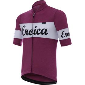 Santini Vino Fietsshirt korte mouwen Heren violet/wit